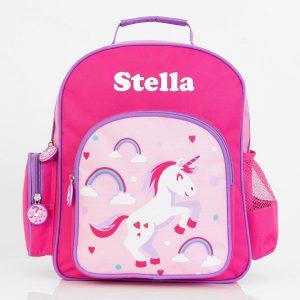 personalised preschool backpack