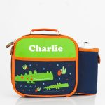 personalised preschool lunch bag