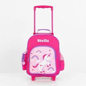personalised kids trolley case