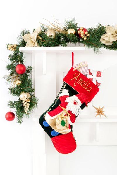 Personalised Christmas Stocking Ho Ho Ho