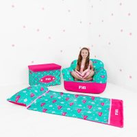 personalised girls bean bag