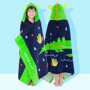 personalised hooded towel