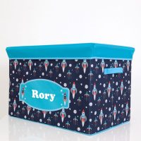 personalised storage box boys