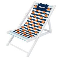personalised deck chair boys