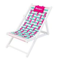 personalised deck chair girls