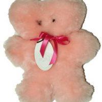 new born lambswool teddy