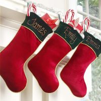 christmas stocking with name
