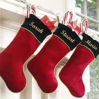 personalised xmas stocking