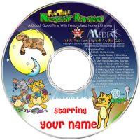 Nursery Rhyme Personalised CD