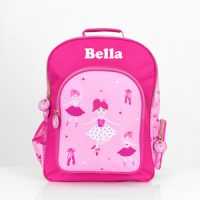 ballerina backpack with name