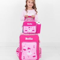 ballerina personalised luggage set