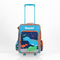 dinosaur personalised luggage set