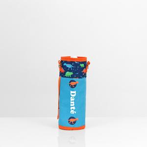 dinosaur personalised drink bottle holder