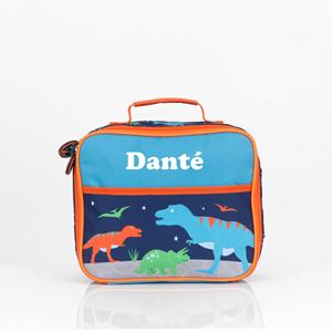dinosaur personalised lunch box
