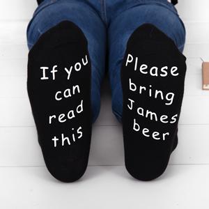 mens beer socks
