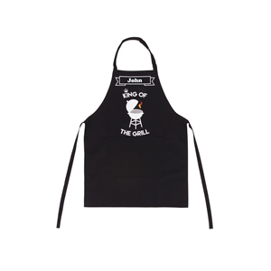 Personalised Mens Apron King of the Grill