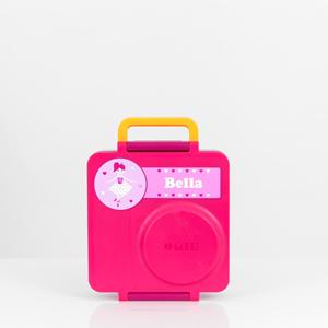 pink omie box ballerina