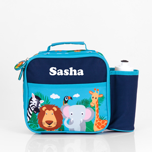 safari personalised lunch bag