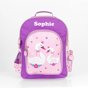 girls backpack with name