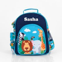 boys preschool backpack with name