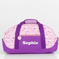 girls sports bag with name