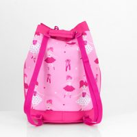 personalised ballerina kids swim bag