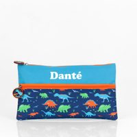 Personalised Pencil Case Boys Dinosaur