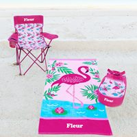 personalised girls beach gear
