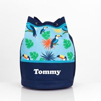 personalised toucan swim bag