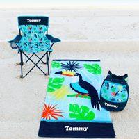 personalised boys beach gear