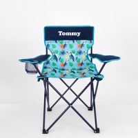personalised boys camp chair