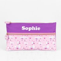 Personalised Pencil Case Girls Swan