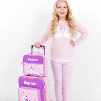 personalised girls travel set