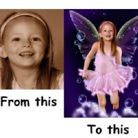 Personalised Magic Fairy Photo