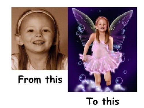 Personalised Magic Fairy Photo