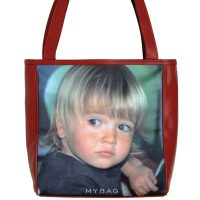 Personalised Leather Photo Bag