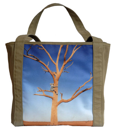 Personalised Canvas Photo Bag