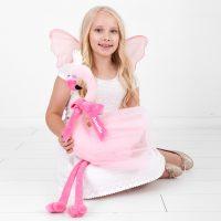 Personalised Flamingo Doll