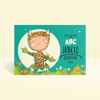 abc jungle personalised story book