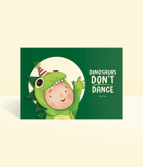 Dinosaurs Don't Dance Personalised Story Book