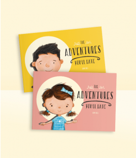 Personalised Story Book The Adventures You'll Have