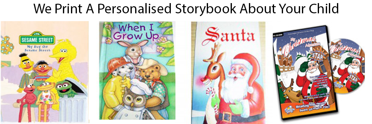 personalised story books kids