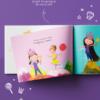 princess personalised kids book