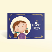 princess personalised story book