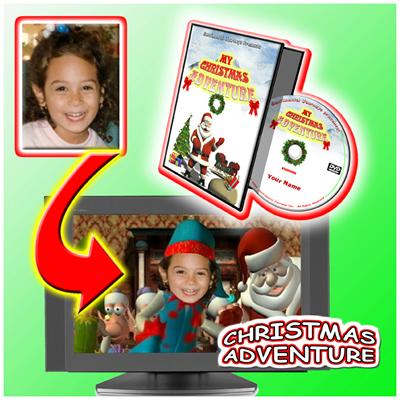 Personalised Photo DVD My Christmas Adventure