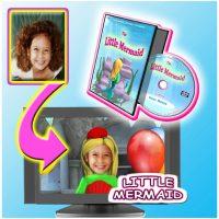 little mermaid personalised dvd