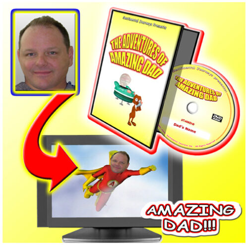 Personalised Photo DVD Amazing Dad