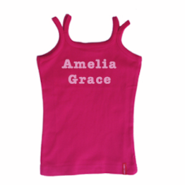 Personalised Childs Singlet